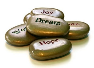dream hope joy stones image